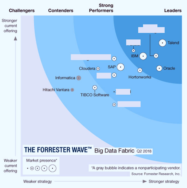 Forrester Wave™: Big Data Fabric, Q2 2018