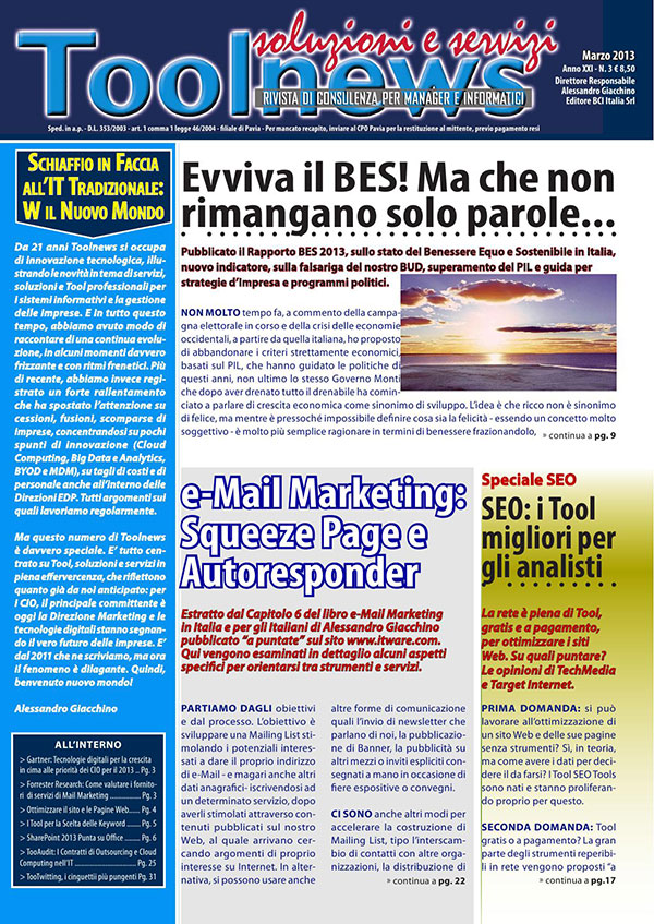 Toolnews Marzo 2013