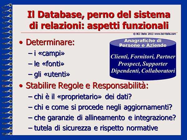 eMail Marketing Capitolo 3 Database e Mailing List 4