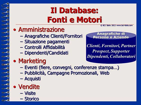 eMail Marketing Capitolo 3 Database e Mailing List 5
