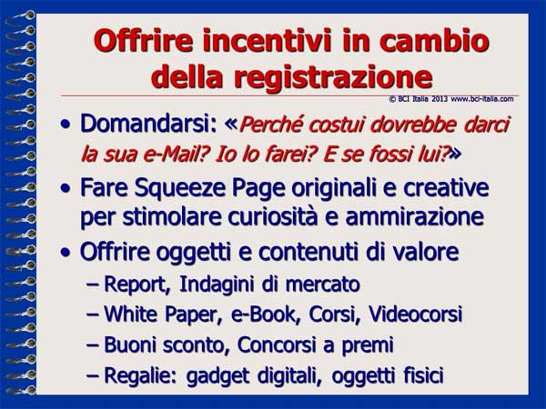 e-Mail Marketing in Italia e per gli Italiani Capitolo 5 Slide 05
