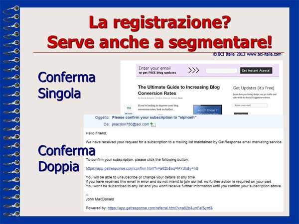 e-Mail Marketing in Italia e per gli Italiani Capitolo 5 Slide 08
