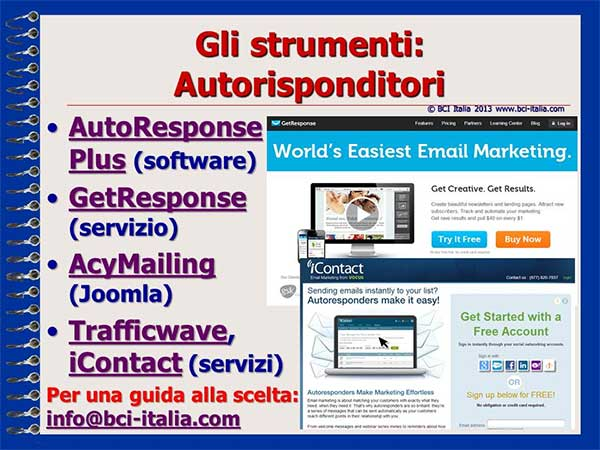 e-Mail Marketing in Italia e per gli Italiani Capitolo 5 Slide 10