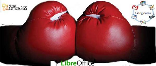 Microsoft Office 365 vs Google APPs vs Libre Office